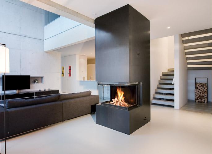 Ruegg Kamine brenn punkt at architekturkamine